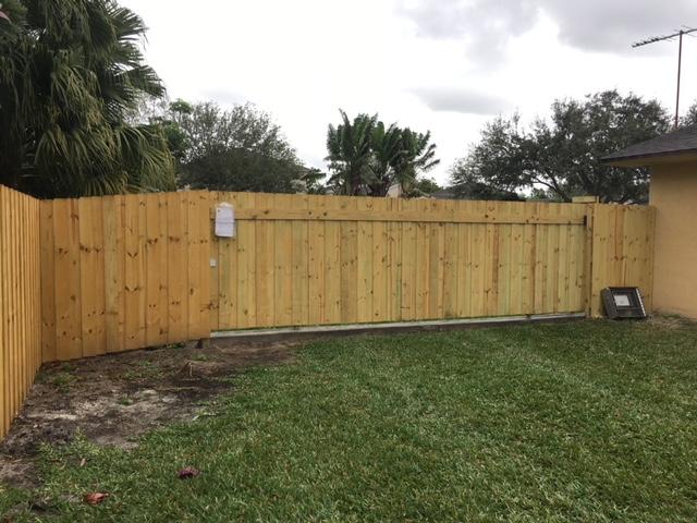 wood fence installation miramar